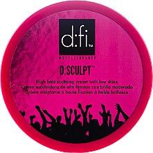 Kup Krem do układania włosów - D:fi d:sculpt High Hold Low Shine Hair Sculptor