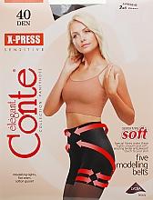 "Kup Rajstopy ""X-press"" 40 DEN, shade - Conte"