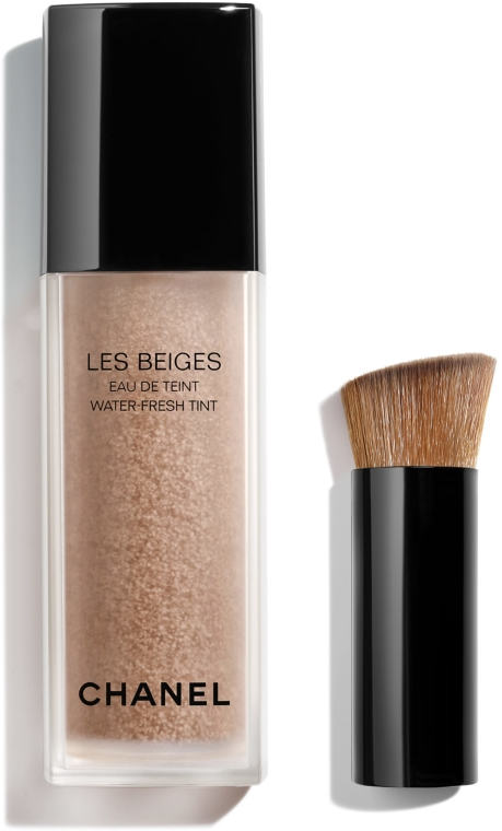 Tonujący fluid-tint do twarzy - Chanel Les Beiges Eau De Teint — фото N1