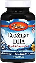 Kup PRZECENA! Kwas DHA w kapsułkach - Carlson Labs EcoSmart DHA 500 *