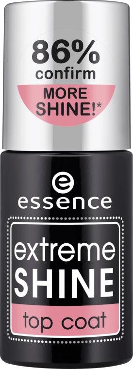 Lakier nawierzchniowy do paznokci - Essence Extreme Shine Top Coat