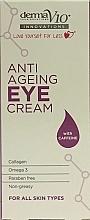 Kup PRZECENA! Przeciwstarzeniowy krem pod oczy z kofeiną - Derma V10 Innovations Anti Ageing Eye Cream*