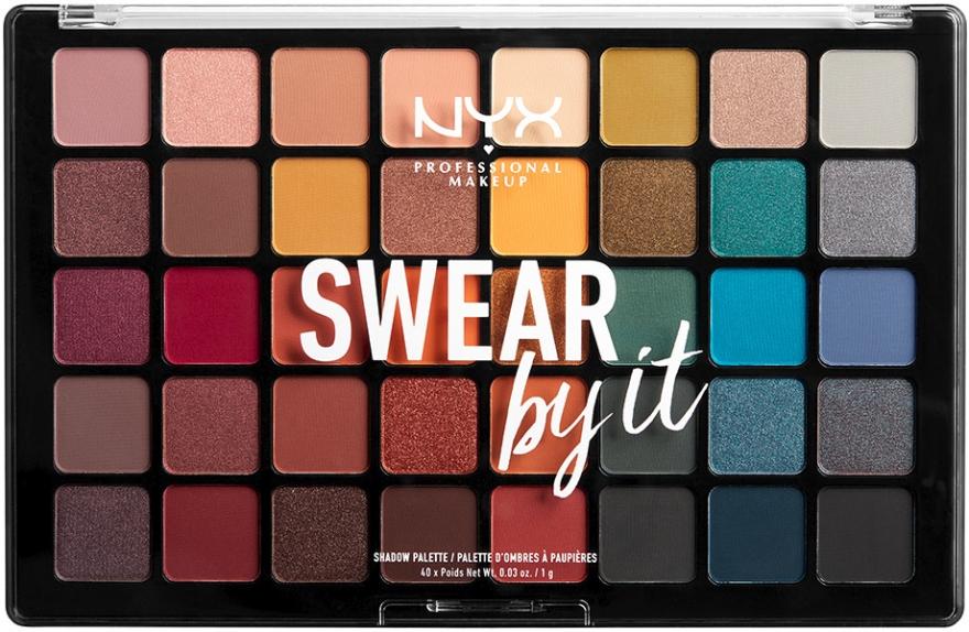 Paletka cieni do powiek - NYX Professional Makeup Swear by It Shadow Palette