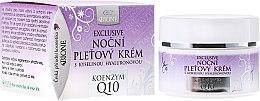 Kup Ekskluzywny krem do twarzy na noc z kwasem hialuronowym - Bione Cosmetics Exclusive Organic Night Facial Cream With Q10