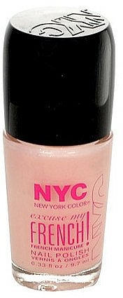 Lakier do paznokci - NYC Color Excuse My French! Manicure Nail Polish — фото N1