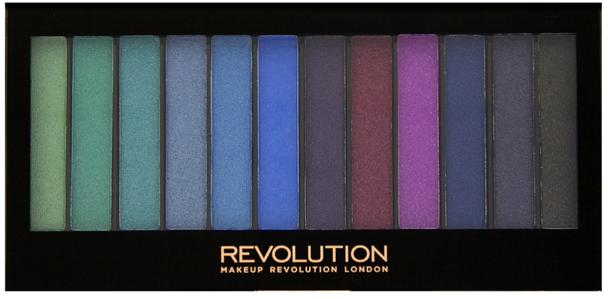Paleta cieni do powiek - Makeup Revolution Redemption Palette Mermaids VS Unicorns — фото N1
