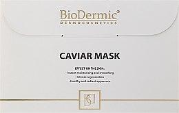 Kup Wygładzająca maska do twarzy na tkaninie z kawiorem - BioDermic Caviar Mask