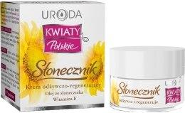Kup Krem odżywczo-regenerujący z olejem słonecznikowym i witaminą E Słonecznik - Uroda Kwiaty polskie