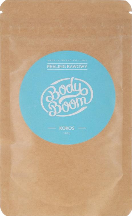 Peeling kawowy Kokos - BodyBoom Coffee Scrub Coconut