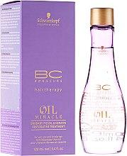 Kup Odbudowujący olejek do włosów Olej z opuncji figowej i keratyna - Schwarzkopf Professional BC Bonacure Oil Miracle Barbary Fig Oil & Keratin