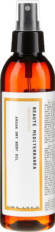 Suchy olejek arganowy do ciała - Beaute Mediterranea Argan Dry Body Oil — фото N1