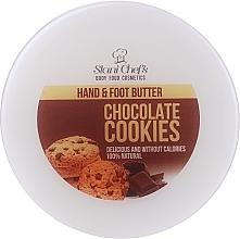 Krem do rąk i stóp Ciasteczka czekoladowe - Stani Chef's Chocolate Cookies Hand Foot Cream — фото N1