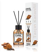 Kup Dyfuzor zapachowy Cynamon i goździk - Eyfel Perfume Reed Diffuser Cinnamon Clove