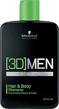 Kup Szampon do włosów i ciała - Schwarzkopf Professional 3D Mension Hair & Body Shampoo