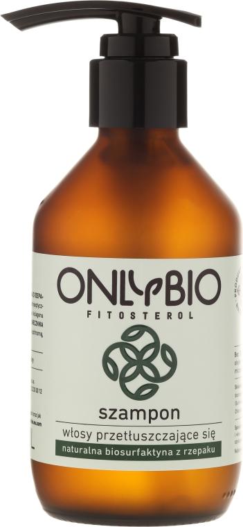 Szampon do włosów przetłuszczających się - Only Bio Fitosterol