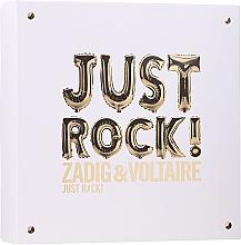 Kup Zadig & Voltaire Just Rock - Zestaw (edp 50 ml + b/lot 50 ml + sh/gel 50 ml)