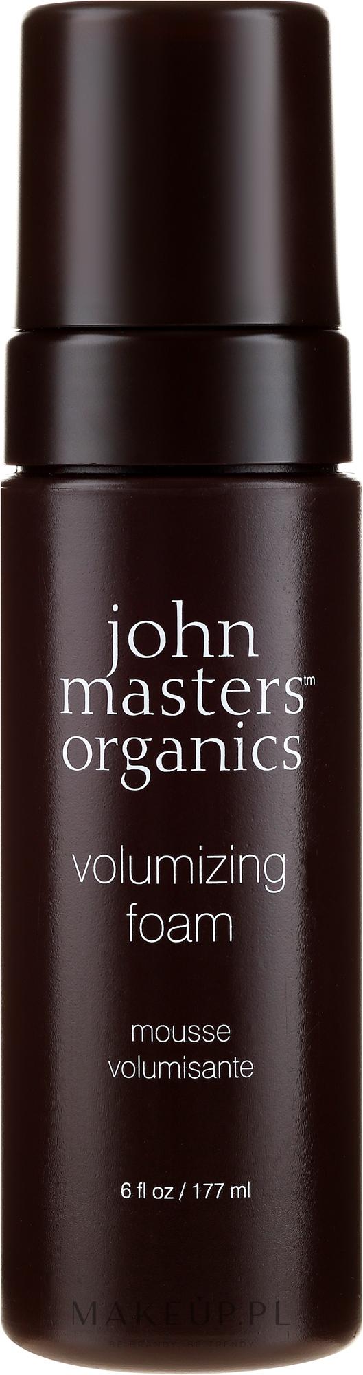 Pianka do włosów zwiększająca objętość - John Masters Organics Volumizing Foam — фото 177 ml