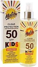 Kup Spray przeciwsłoneczny dla dzieci SPF 50 - Malibu Kids Clear Protection Spray