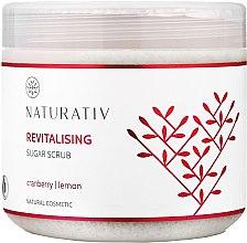 Kup Rewitalizujący peeling cukrowy Żurawina i cytryna - Naturativ Revitalising Body Sugar Scrub