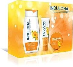 Kup Zestaw do makijażu oka - Indulona Calendula (b/milk/250ml + h/cr/85ml + b/cr/75ml)