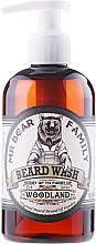 Kup Łagodny szampon do brody Leśny - Mr. Bear Family Beard Wash Woodland
