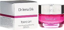 Kup Ekspresowo wygładzający krem detoksykujący do twarzy - Dr Irena Eris Tokyo Lift Instant Smoothing & Detoxifing Night Cream