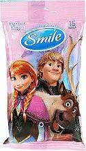 Kup Chusteczki Kraina lodu, 15 szt., Anna, Kristoff i Sven - Smile Ukraine Disney