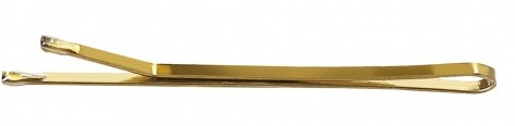 Wsuwki, 4 cm, złote - Lussoni Hair Grips Golden — фото N1
