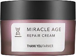 Kup Naprawczy krem przeciwzmarszczkowy do rozjaśniania twarzy - Thank You Farmer Miracle Age Cream
