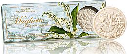 Kup Zestaw naturalnych mydeł w kostce Konwalia - Saponificio Artigianale Fiorentino Lily of The Valley Scented Soap (3 x soap 125 g)