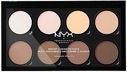 Kup Paletka do konturowania twarzy - NYX Professional Makeup Highlight & Contour Pro Palette