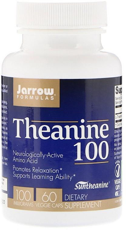 Suplement diety, L-teanina, 100 mg - Jarrow Formulas Theanine, 100 mg  — фото N1