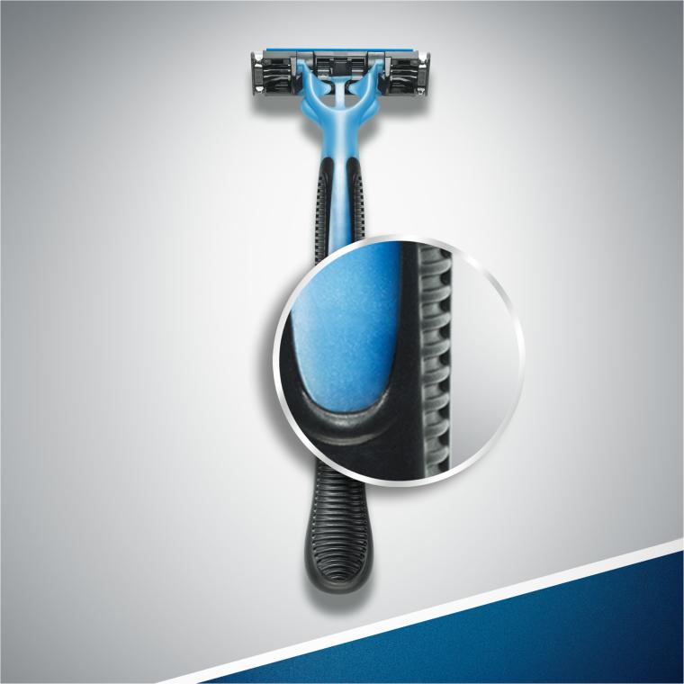Jednorazowe maszynki do golenia, 6+2 szt. - Gillette Blue 3 — фото N5