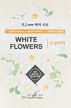 Kup Nawilżająca maseczka rozjaśniająca w płachcie do twarzy - Etude House 0.2 Therapy Air Mask No.White Flowers