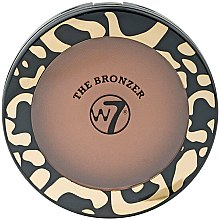 Kup Bronzer do twarzy - W7 The Bronzer Matte Compact
