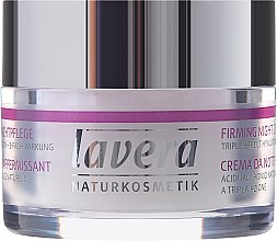 Ujędrniający krem do twarzy na noc - Lavera Firming Night Cream — фото N2