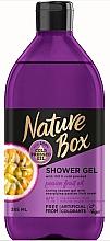 Kup Nawilżający żel pod prysznic z olejem z marakui - Nature Box Passion Fruit Oil Shower Gel