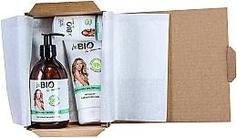 Kup Zestaw do pielęgnacji - BeBio Spirulina & Chlorella Algae Set (sh/gel/400ml + b/lot/200ml + deo/roll-on/50ml)