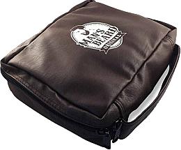 Kup Męska kosmetyczka, skóra syntetyczna, MB212 - Man's Beard Men's Toiletry Bag Synthetic Leather Brown