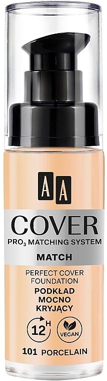 Podkład mocno kryjący do twarzy - AA Cover Match — фото N1