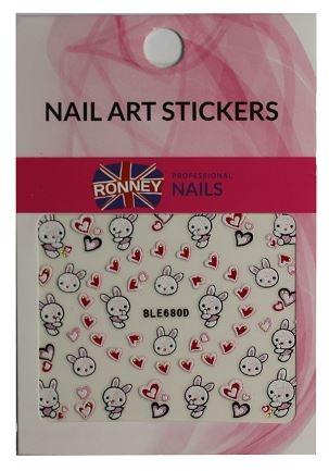 Naklejki na paznokcie - Ronney Professional Nail Art Stickers