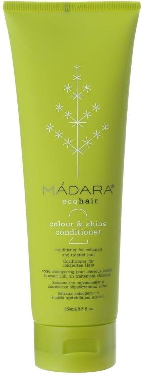 Balsam do włosów farbowanych i traktowanych chemicznie - Madara Cosmetics Colour & Shine Conditioner — фото N1
