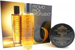 Zestaw - Orofluido Promo Pack (elixir/100ml+h/mask/250ml) — фото N2