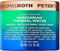 Kup Przeciwstarzeniowa maska do twarzy - Peter Thomas Roth Hungarian Thermal Water Mineral-Rich Atomic Heat Mask