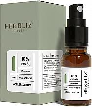 """Kup Spray do ust """"Oliwkowa świeżość"""" 10% - Herbliz CBD Olive Fresh Oil Mouth Spray 10%"""