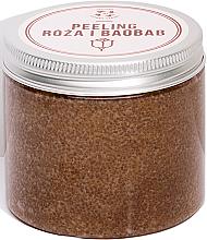 Kup PRZECENA! Peeling do ciała Róża i baobab - Cztery Szpaki *