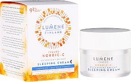 Kup Krem na noc z witaminą C - Lumene Valo [Light] Overnight Bright Vitamin C Sleeping Cream