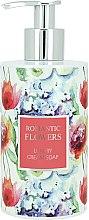 Kup Luksusowe kremowe mydło w płynie Romantyczne kwiaty - Vivian Gray Romantic Flowers Cream Soap