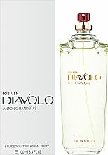 Diavolo Antonio Banderas - Woda toaletowa (tester bez nakrętki) — фото N2
