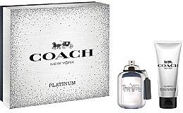 Kup Coach Platinum - Zestaw dla mężczyzn (edt 60 ml + sh/gel 100 ml)